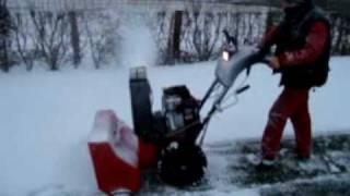 Fraise a neige Canadiana sur roues, chez TDO, www.tracteur-occasion.com