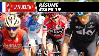 Résumé - Étape 19 - La Vuelta 2017