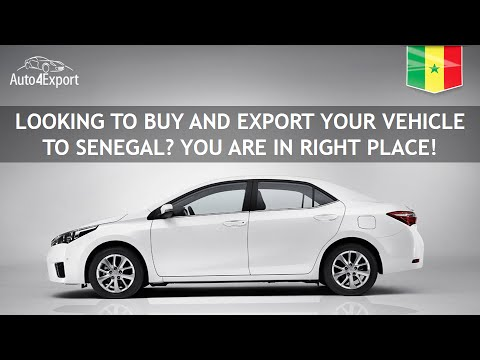 Shipping cars from USA to Senegal - Auto4Export