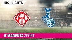 FC Würzburger Kickers - MSV Duisburg | Spieltag 13, 19/20 | MAGENTA SPORT