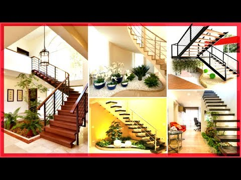 great ideas for decorating your stairs with houseplants
