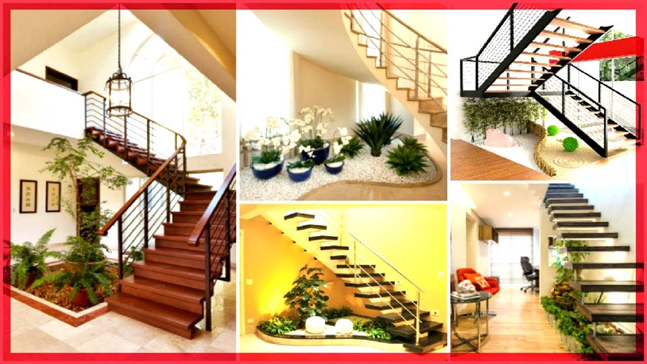 Ideas geniales para decorar tus escaleras con plantas for Ideas para decorar interiores con plantas