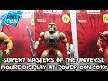 Super7 Masters of the Universe Action Figure Display at Power-Con 2018