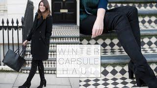 ASOS & Whistles Winter Capsule Wardrobe Haul | The Anna Edit
