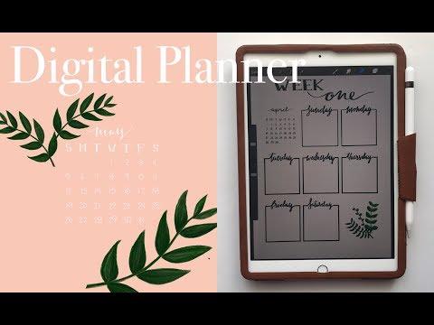 iPad 2018 Digital Planner (Procreate & OneNote)