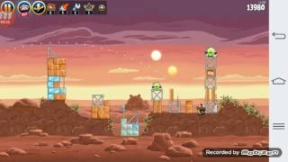 Angry Birds STAR WARS #1İlk GuN