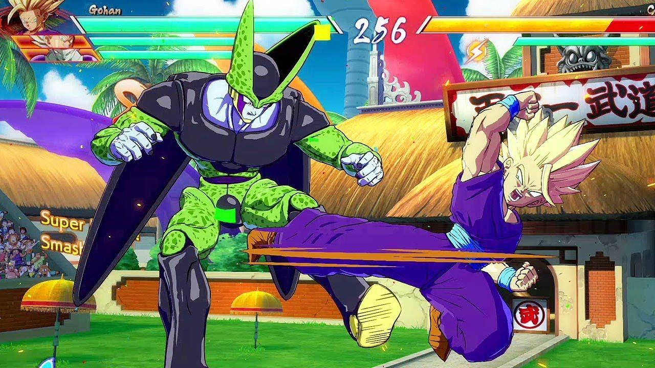 DRAGON BALL FighterZ - Vegeta, Gohan, Frieza VS Frieza, Cell, Majin Buu @ 1080p (60ᶠᵖˢ) HD ✔