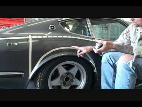 """1972 Datsun 260 Z S.C.C.A.-How To Install """"FENDER FLARES ..."""