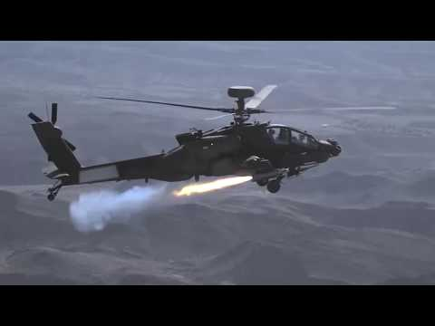 Apache Fires BRIMSTONE Missile