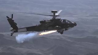 Brimstone Missile Test Fired from Apache AH-64E