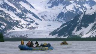 River Rafting on the Tatshenshini, Yukon
