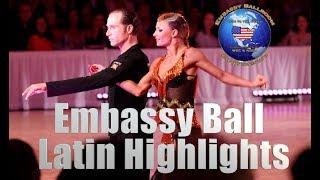 Embassy Ball 2018 | Latin Final | Dancesport Highlights | WDC | NDCA