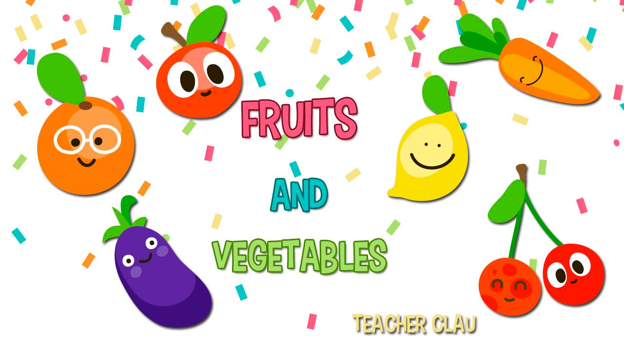 Aprende En Ingles Las Frutas Y Verduras Fruits Vegetables Youtube
