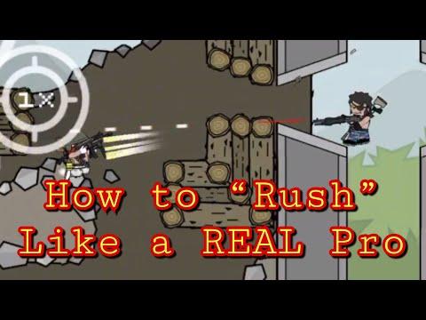 Da2 Mini Militia:How to Rush like a REAL Pro