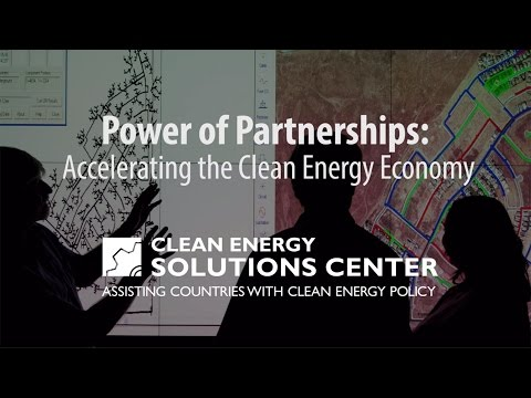 Power of Partnerships: Accelerating the Clean Energy Economy