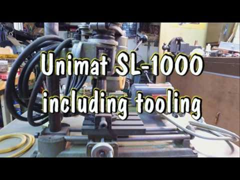 Unimat SL1000 Jewelers Lathe & Mill
