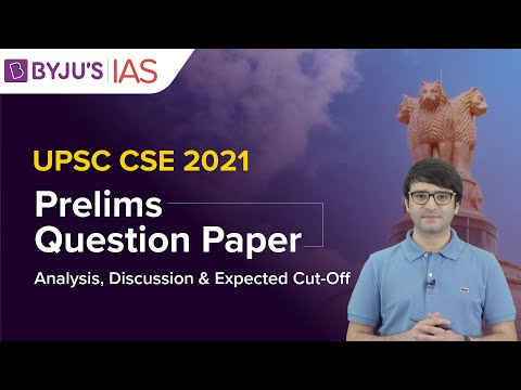 UPSC Prelims 2021 Analysis & Discussion | GS Paper 1