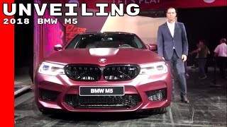 New 2018 BMW M5 Unveiling