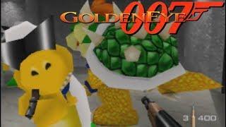 GoldenEye 007 // MARIO CHARACTERS MOD for Nintendo 64