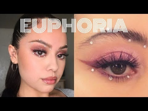 MADDY EUPHORIA MAKEUP TUTORIAL | Just Nicole thumbnail