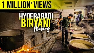 Hyderabadi Mutton Biryani Preparation Step by Step Process   Muslim Mutton Biryani   Grill9   HYD