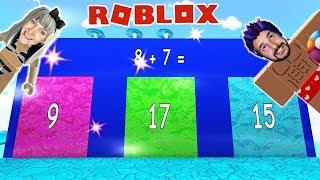 Roblox: WÄHLE NICHT DIE FALSCHE TÜR IN WASSERPARK OBBY! *mit schummeln*