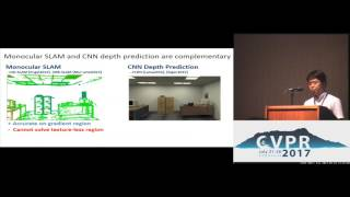 CNN-SLAM - Real-Time Dense Monocular SLAM With Learned Depth Prediction | Spotlight 4-2B