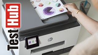 Urządzenie wielofunkcyjne HP OfficeJet Pro 9023 prezentacja