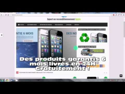 acheter un iphone pas cher d 39 occasion reconditionn youtube. Black Bedroom Furniture Sets. Home Design Ideas