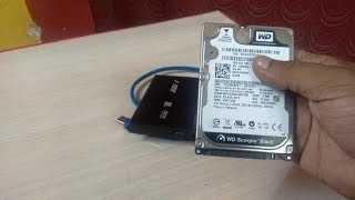 How to Use Any Laptop Hard Disk as a External Hard Disk