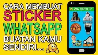 Cara Membuat Sticker Whatsapp Lucu Dan Menarik Buatan Sendiri