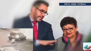 Analizan video sobre intento de secuestro cerca de metro Universidad