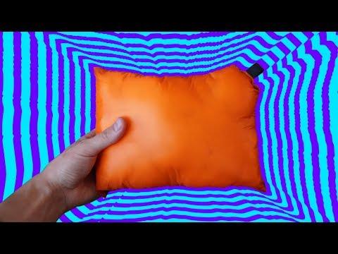 How To Make A Lightweight Backpacking Pillow - DIY / MYOG