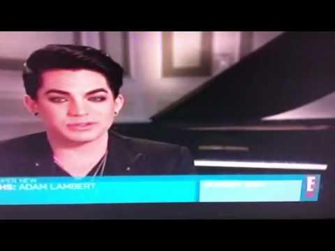 Adam Lambert E! True Hollywood Story Promo