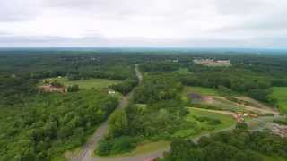 long flight 380 ft over town farm hill/town farm rd in enfield