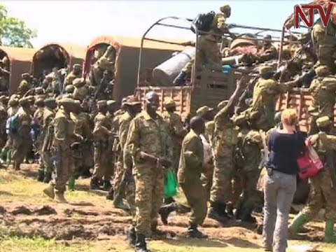 UPDF begins withdrawing from South Sudan