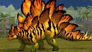 🦖 STEGOSAURUS Tiến Hóa Dạng Cuối Siêu Đẹp 🦕| Jurassic World Công Viên Khủng Long