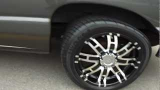 "HILLYARD CUSTOM RIM & TIRE! FORD ECONOLINE! CRUISIN ON 20"" HELOS!.MP4"