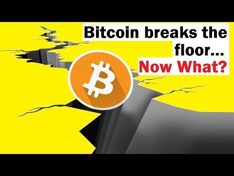 Bitcoin Breaks the Floor… How Bad is This?