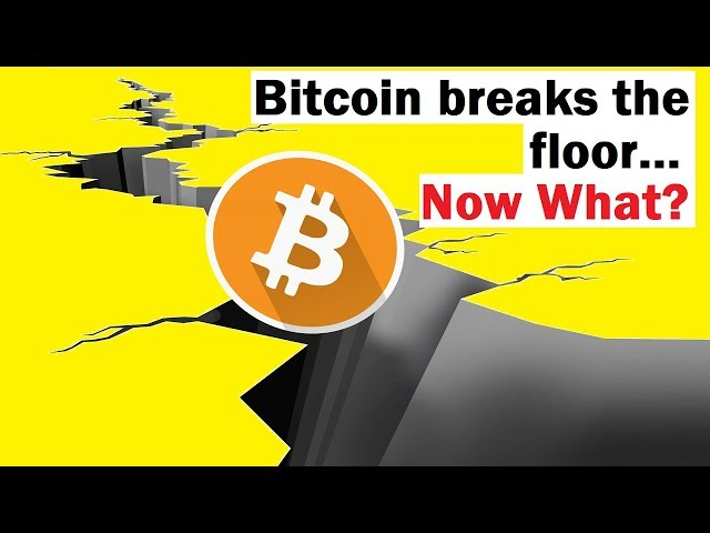 Bitcoin Breaks the Floor... How Bad is This?