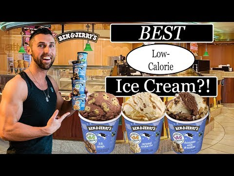 BEN & JERRY'S LOW CALORIE ICE CREAM MOO-PHORIA REVIEW