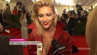 Anja Rubik On Her Goth Phase   Met Gala Interview   Fashion Flash