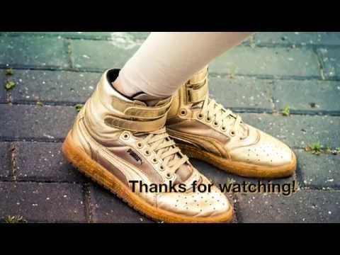 PUMA Women s Sky II HI Metallic Sneaker - YouTube 41939b5672