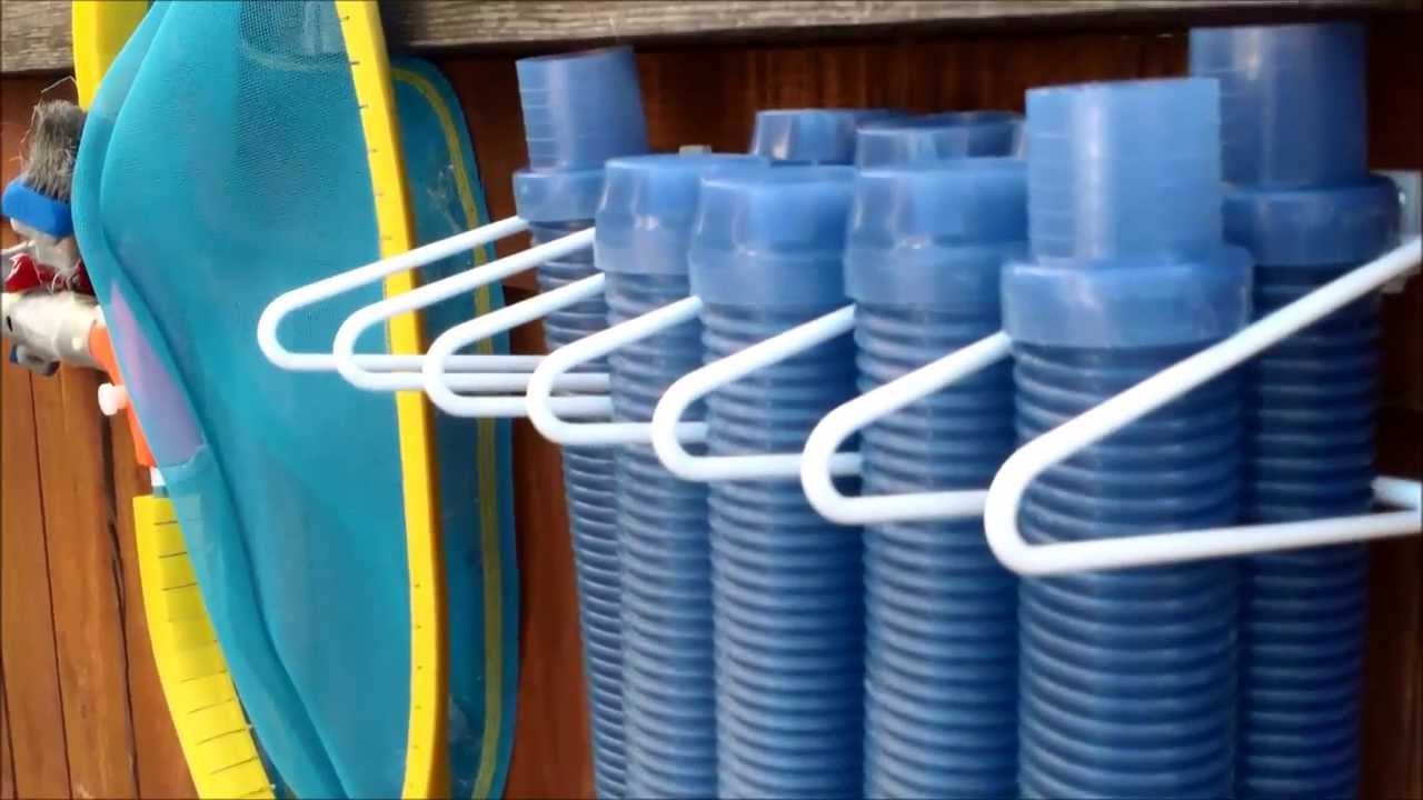 Pool Hose Hosehanger Pro Installation Review Automatic Cleaner Hose Hanger