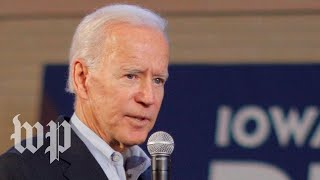 'She has enormous capability': Biden says he'll consider Harris as running mate