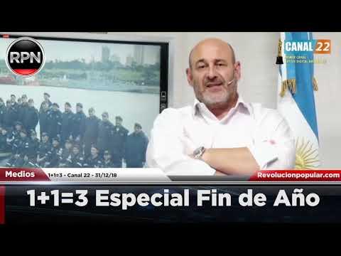 1+1=3 'Especial Fin de Año' 31/12/2018