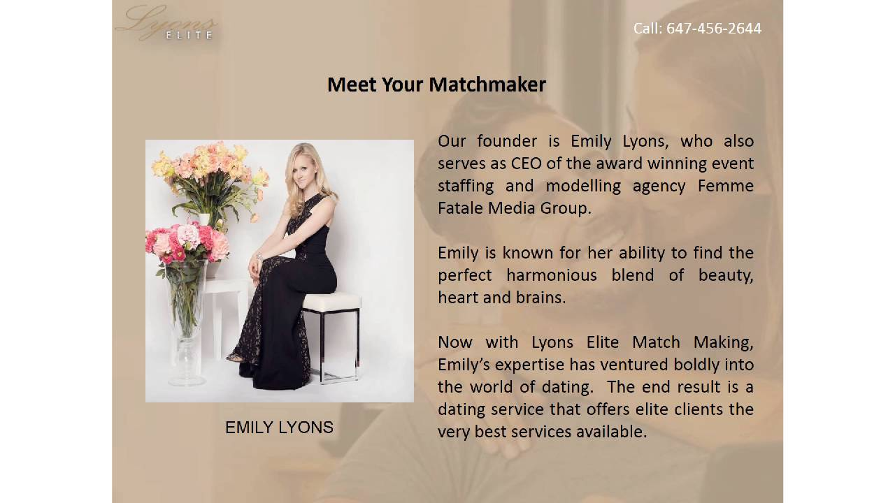 Matchmaking services group