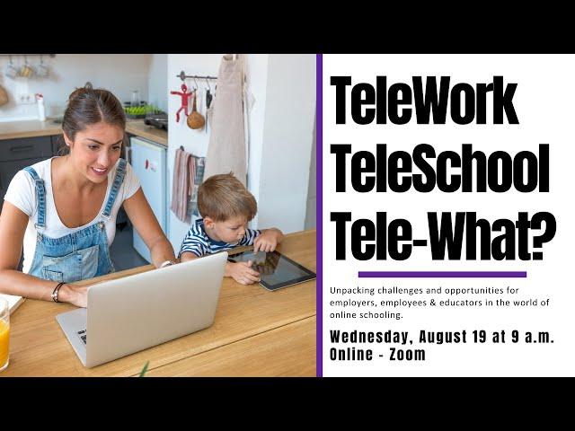 TeleWork, TeleSchool, Tele-What?