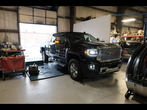 2016 vs. 2017 Duramax diesel dyno RUNS!!! Lets find out the real numbers....