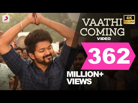 Master - Vaathi Coming Video Song | Thalapathy Vijay | Anirudh Ravichander